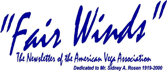 Fair Winds the newsletter of the americanvega association